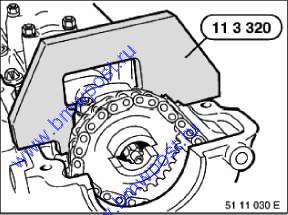 Набор cпецинструмента для BMW двигателей M51 модель E30 E34 E43