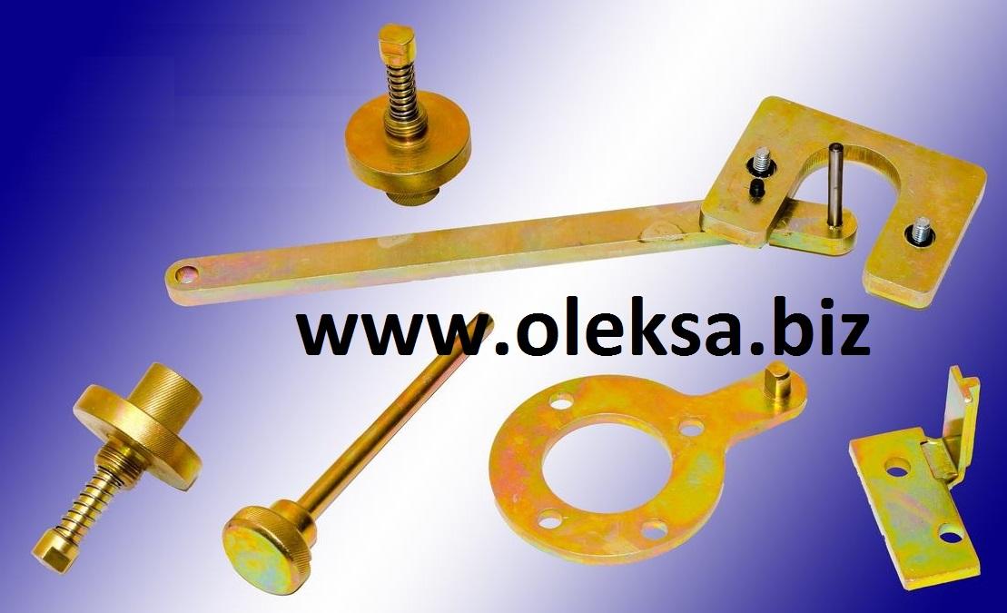 Набор cпецинструмента фиксации распредвала, коленвала при замене ГРМ Fiat Lancia 1.3 JTD MultiJet Opel 1.3 CDTI