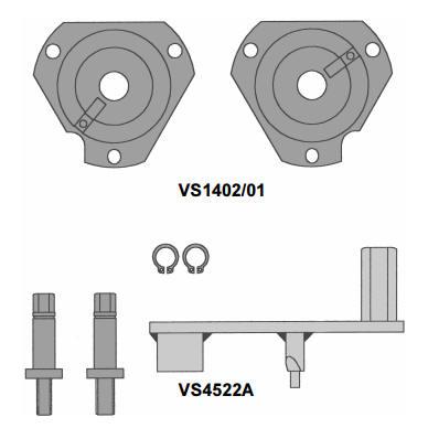 Набор cпецинструмента для Fiat  двигателей 1.6 16v