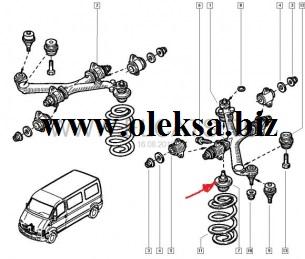 Renault Master и Opel Movano и Nissan Interstar поменять шаровые Киев сервис