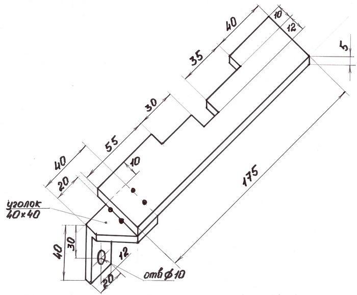 Набор cпецинструмента для фиксации распредвала RENAULT MOT 1496