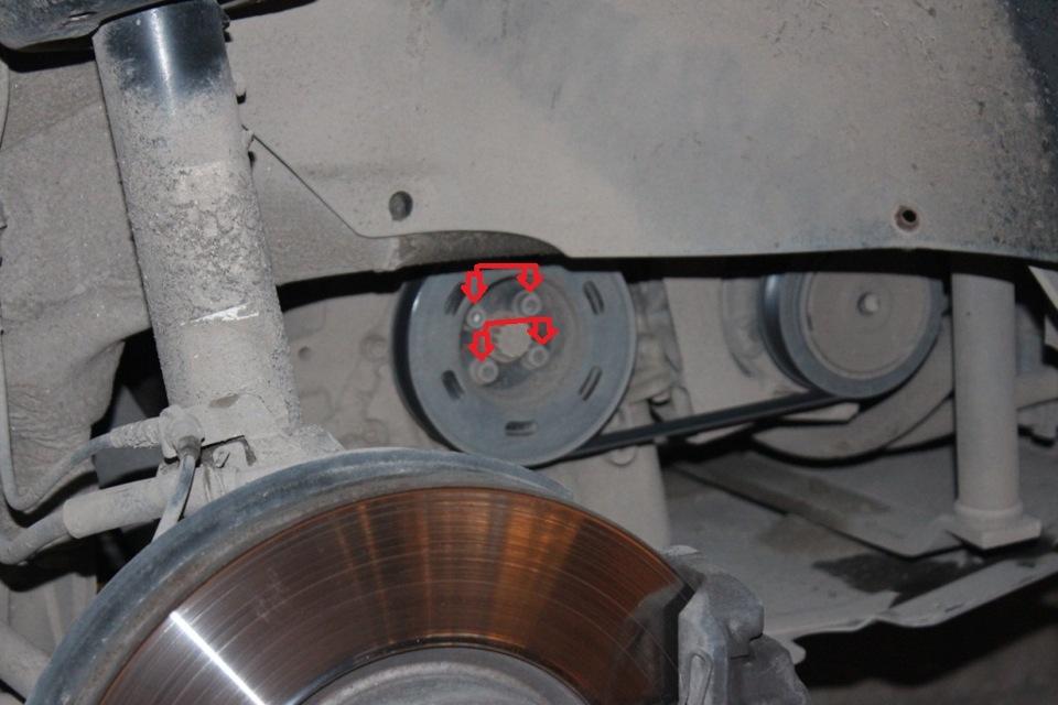 ремня ГРМ в Киеве на СТО двигатель 1.6 FSI